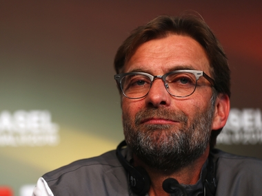 Liverpool manager Jurgen Klopp. Getty Images