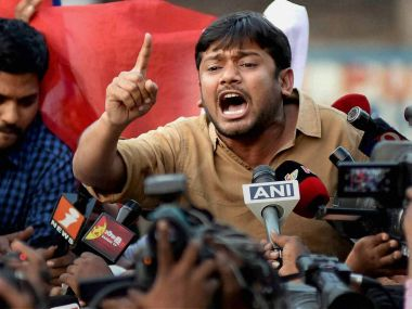 ABVP activists shouted slogans that the Jawaharlal Nehru University Students Union president, Kanhaiya Kumar, who has been charged with sedition, has made this ground impure by his presence. PTI