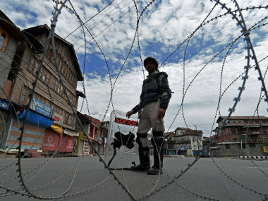 Eight people were killed in Kashmir due to violence over Burhan Wani's death. PTI