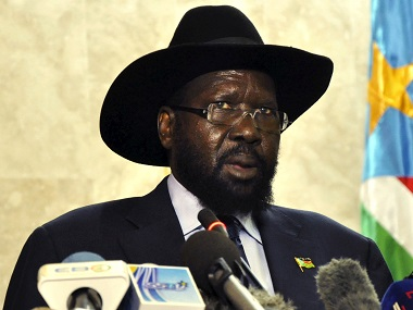 South Sudan's President Salva Kiir. Reuters