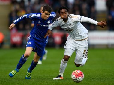 Leroy Fer impressed in his loan spell at Swansea. Getty