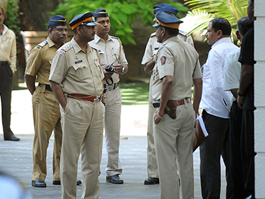 File photo of Maharashtra police. AFP