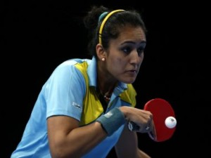 File photo of Manika Batra . Getty Images