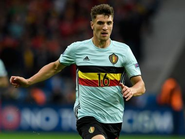 Belgian defender Thomas Meunier. Getty
