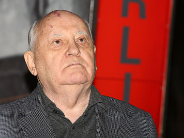 File picture of Mikhail Gorbachev. Getty