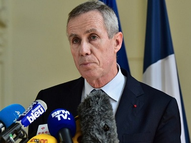 "French anti-terrorism prosecutor Francois Molins delivers a press conference at the courthouse of Nice on July 15, 2016, a day after a gunman smashed a truck into a crowd of revellers celebrating Bastille Day, killing at least 84 people. Ten children and teenagers were among those killed by a Tunisian-born man who drove a lorry into crowds at a Bastille Day fireworks display in Nice, Molins said on July 15. As well as the 84 dead, 202 people were hurt in Thursday night's attack, Molins told reporters, ""of which 10 were children and adolescents"". / AFP PHOTO / GIUSEPPE CACACE"