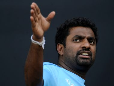File photo of Muttiah Muralitharan. Reuters