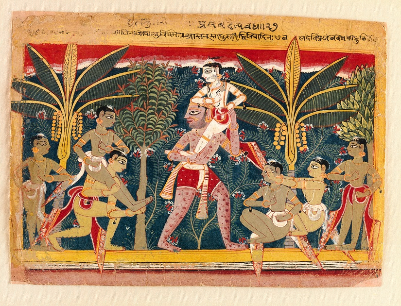 Blind Man's Buff. Image courtesy: The Metropolitan Museum of Art
