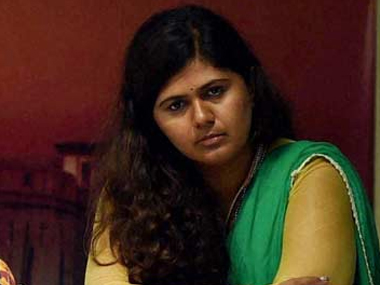 A file photo of Pankaja Munde. PTI