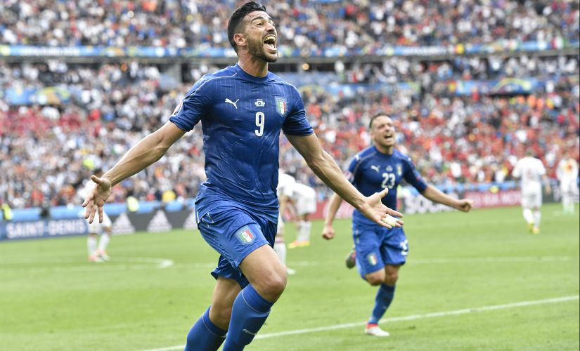 The fairytale continues for Graziano Pelle at the Euro 2016. AP