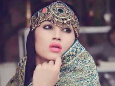 A file photo of Qandeel Baloch. Photo credit: Facebook