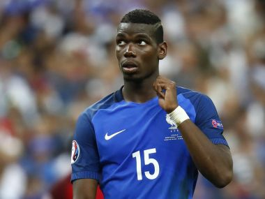 File photo of Paul Pogba. Reuters