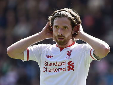 File photo of Joe Allen. Reuters