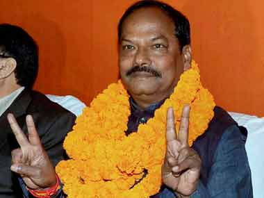 File image of Jharkhand chief minister Raghubar Das. PTI