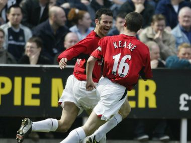File photo of Ryan Giggs and Roy Keane. GettyImages