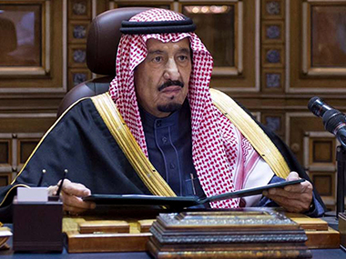 File image of Saudi King Salman. AP