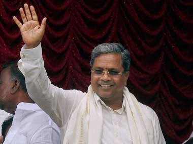 A file photo of Siddaramaiah. PTI