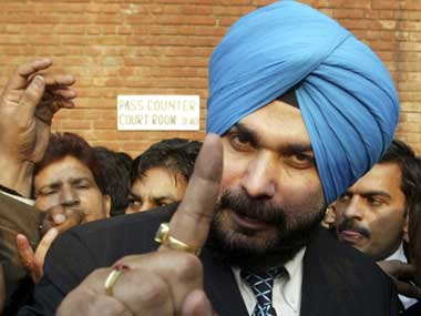 File image of Navjot Singh Sidhu. Reuters