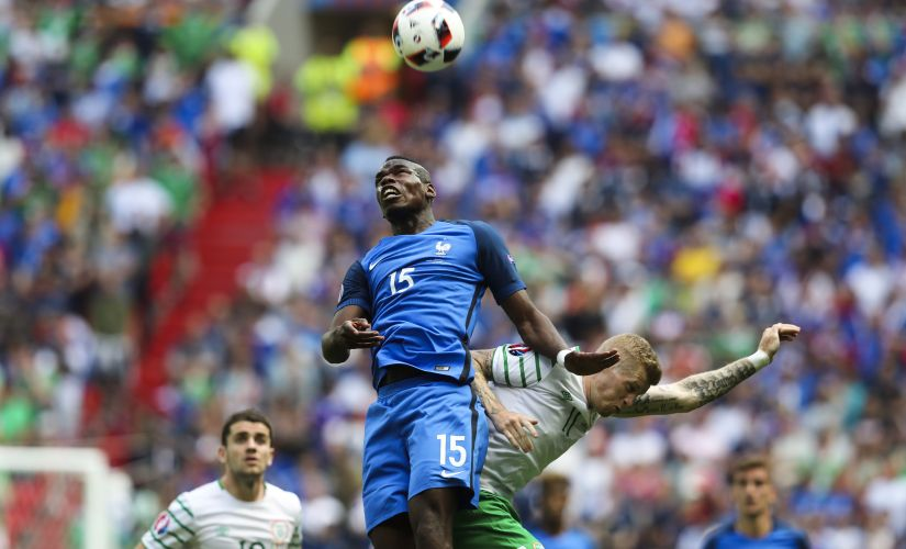 France's Paul Pogba. AP