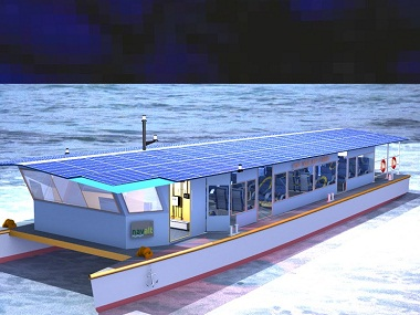 Proposed solar powered ferry