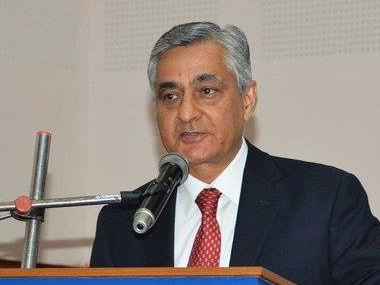 A file photo of Chief Justice of India, TS Thakur. News 18