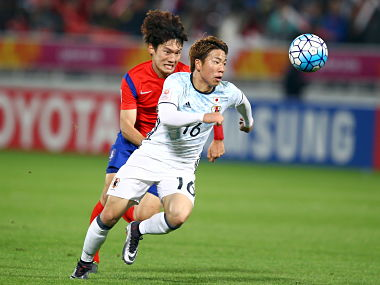 File picture of Takuma Asano. Reuters