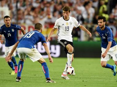 Germany's Thomas Muller. AFP