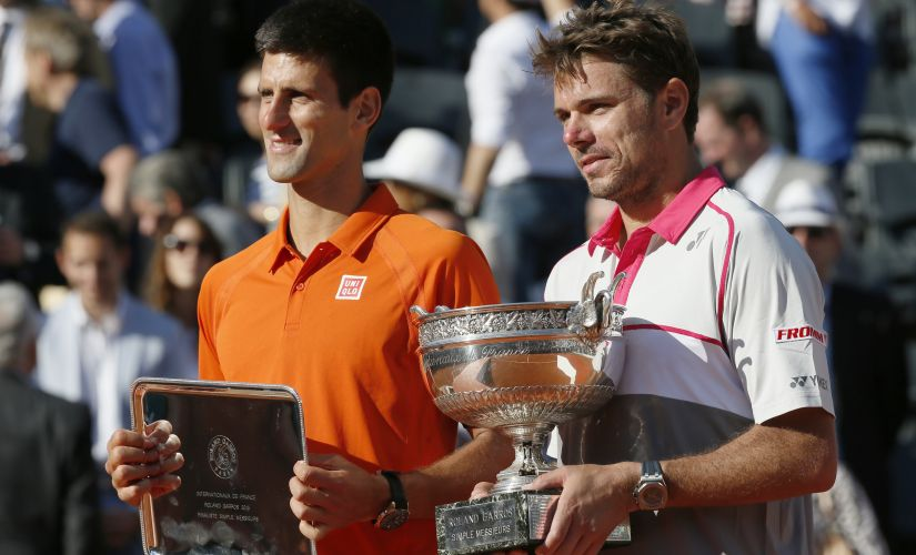 Stanislas Wawrinka got the better of Novak Djokovic at the French Open final of 2015. AFP