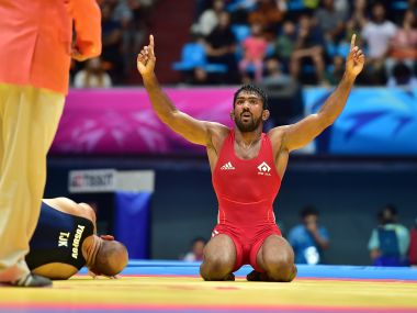 Yogeshwar Dutt looking to end career with a successful Rio Olympic campaign. AFP