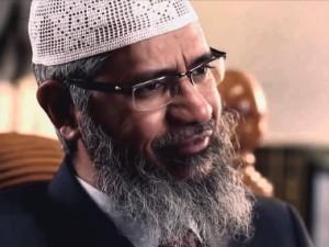 Zakir Naik. Youtube screengrab