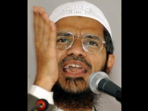 A file photo of controversial preacher Zakir Naik. Reuters
