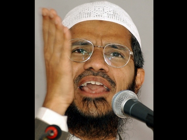 Zakir Nair, a preacher of radical Islam. Reuters.