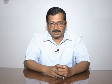 Delhi Chief Minister Arvind Kejriwal. Screengrab from his YouTube video