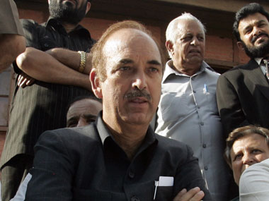 File image of Ghulam Nabi Azad. Reuters