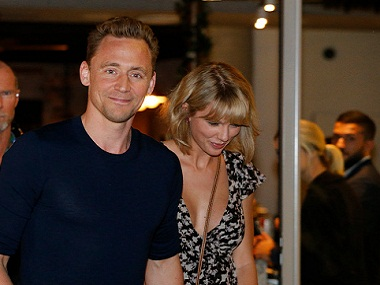 Tom Hiddleston and Taylor Swift (Photo by Jerad Williams/Newspix/Getty Images)