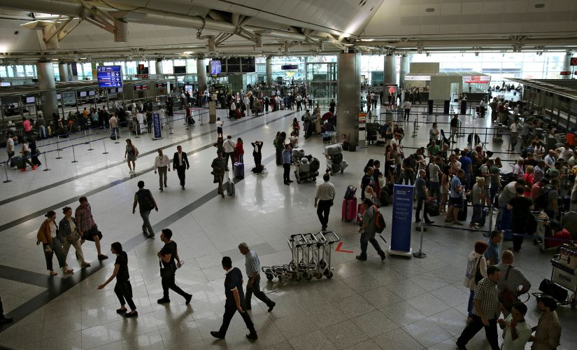 A view of the departure terminal of Istanbul's Ataturk Airport. Reuters