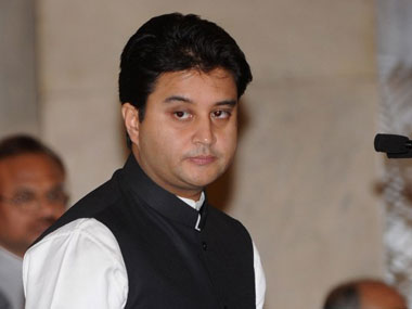 A file photo of Jyotiraditya Scindia. AFP
