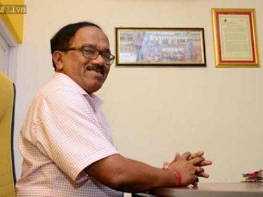 File image of Goa chief minister Laxmikant Persekar. CNN-News18