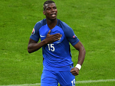 Paul Pogba. Getty Images)