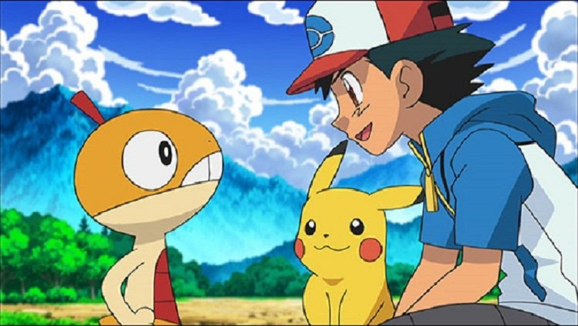 The animated 'Pokémon!' TV series featured Ash Ketchum and Pikachu