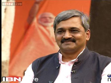 File image of Satish Upadhyay. IBNlive