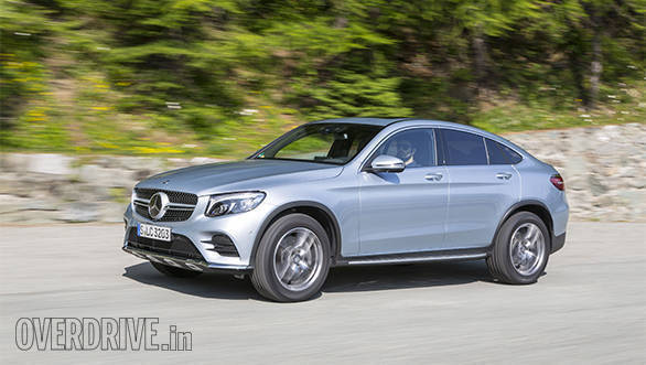 2016 mercedes benz glc coupe first drive review firstpost for Mercedes benz glc coupe price