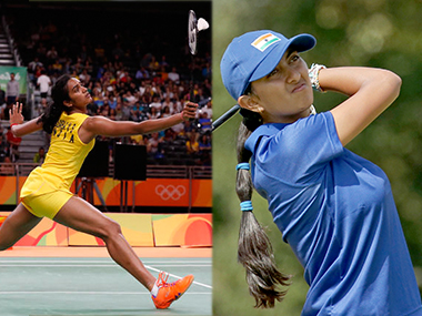 India's PV Sindhu and Aditi Ashok are in action on Day 13