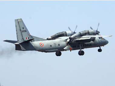 A file photo of IAF aircraft AN-32. PTI