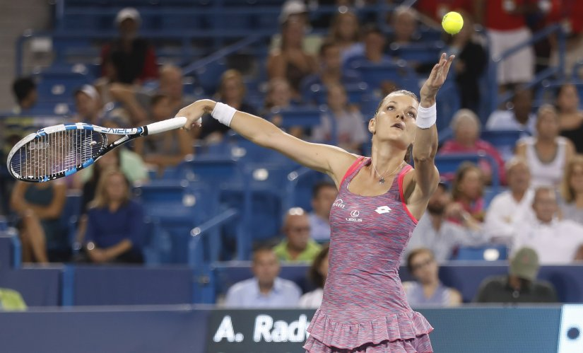 Agnieszka Radwanska is coming into the US Open on the heels of a title in Cincinnati. AP