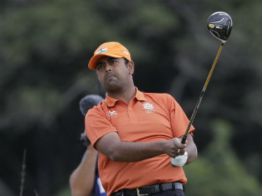 File photo of Golfer Anirban Lahiri. AP