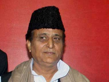 Samajwadi Party leader Azam Khan. PTI