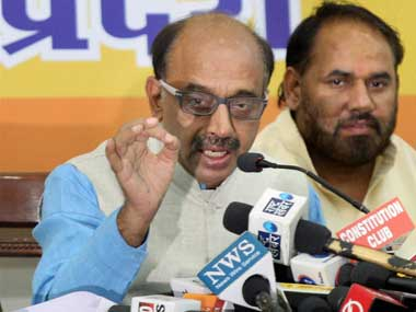 A file photo of Vijay Goel. PTI
