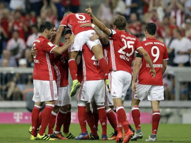 Bayern Munich cruised to a 6-0 win over Werder Bremen. AP