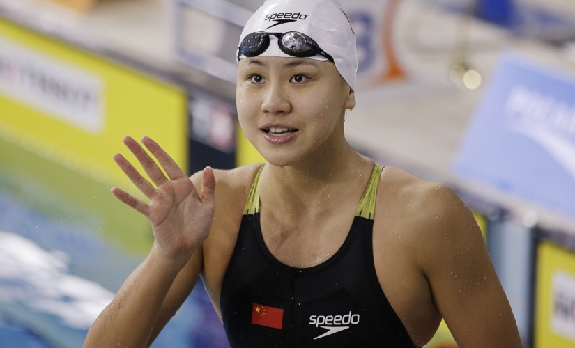 China's Chen Xinyi. AP